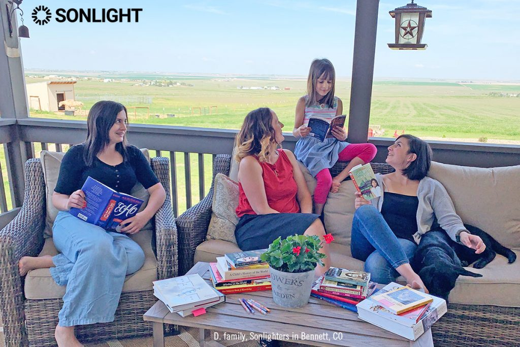 We love to share great Sonlight stories! They make us laugh and cry!