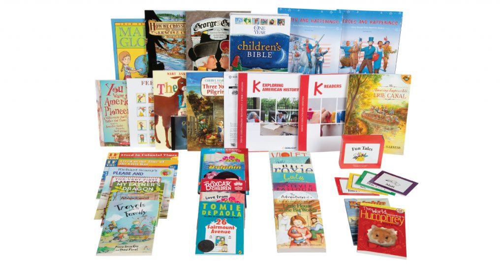 Sonlight's Kindergarten Program Exploring American History for ages 5-6