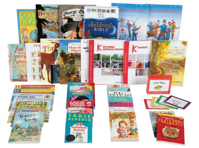 Sonlight History / Bible / Literature K
