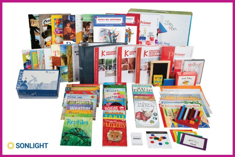 Sonlight's NEW Kindergarten All-Subjects Package