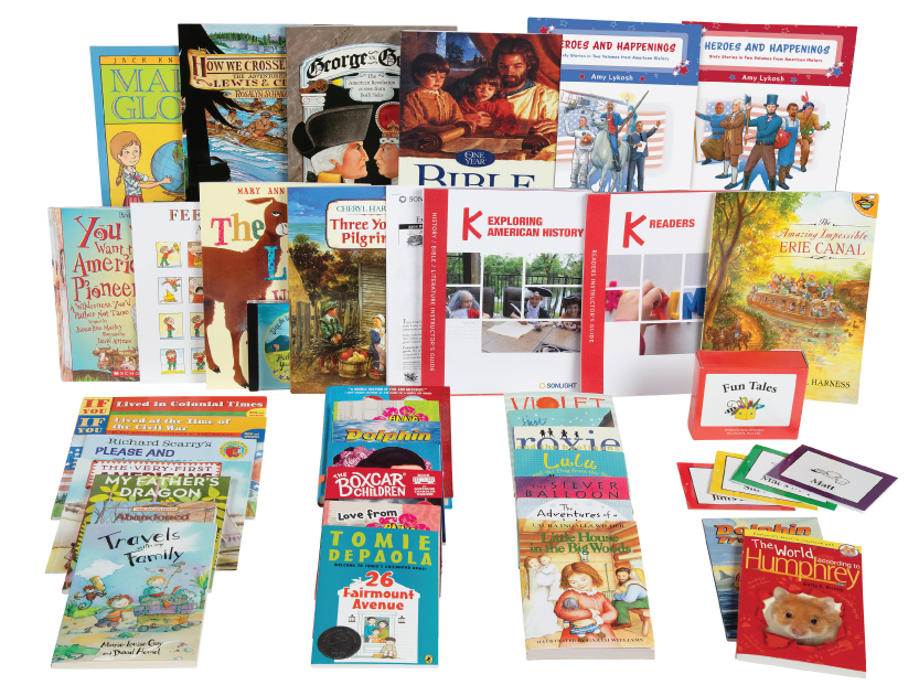 NEW FOR 2020 Sonlight's Kindergarten Program: Exploring American History AVAILABLE APRIL 1, 2020