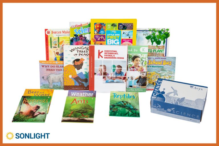 New Kindergarten Science program from Sonlight