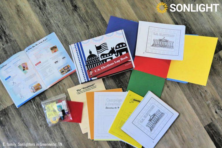 Lap Book Kit Supplies