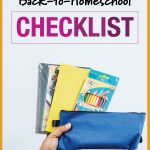 Back-to-Homeschool Checklist: 10 Must-haves for Schooling at Home