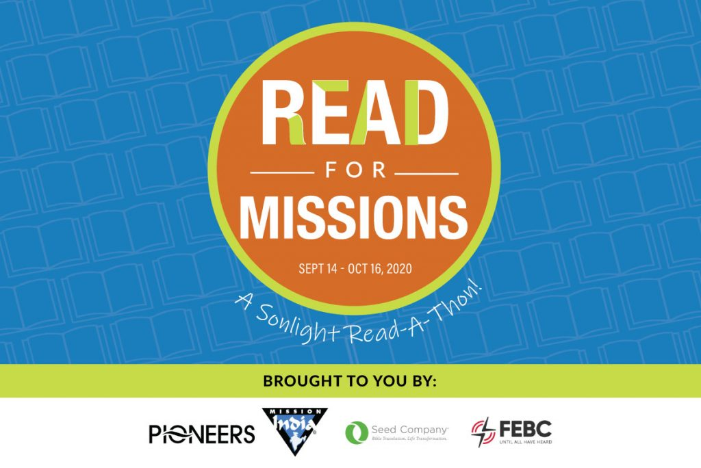 Read for Missions: Sonlight's 2020 Read-A-Thon