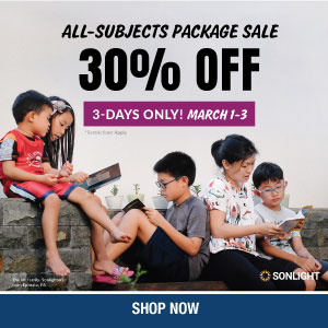 Sonlight's 2021 All-Subjects Package Sale - Save 30%