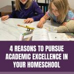 4 Reasons to Pursue Academic Excellence in Your Homeschool