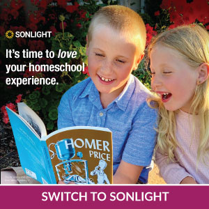 It's time to love your homeschool experience. Switch to Sonlight and save up to $50!