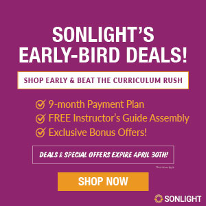 Sonlight's April Special Offers