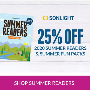 ONE WEEK ONLY: Get 25% off 2020 Summer Readers & Summer Fun Packs with purchase of new 2021 Summer Readers
