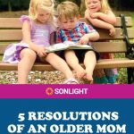 5 Resolutions of an Older Mom, Homeschooling Her Youngest Child