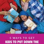 5 Ways to Get Kids to Put Down the Devices and Pick Up a Book