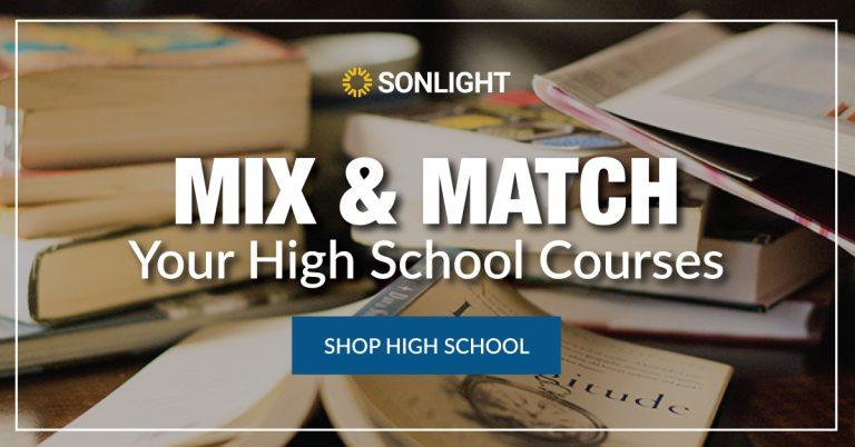 mix and match high school curriculum