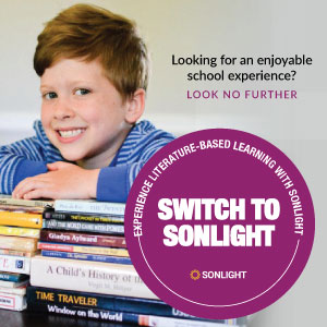 It's time to love your school experience. Switch to Sonlight!