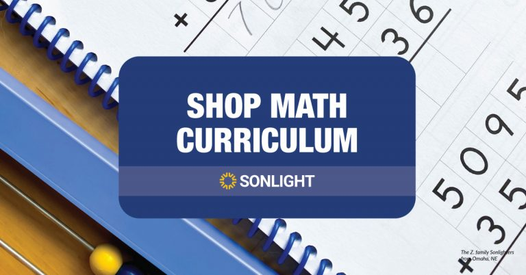 shop math at sonlight
